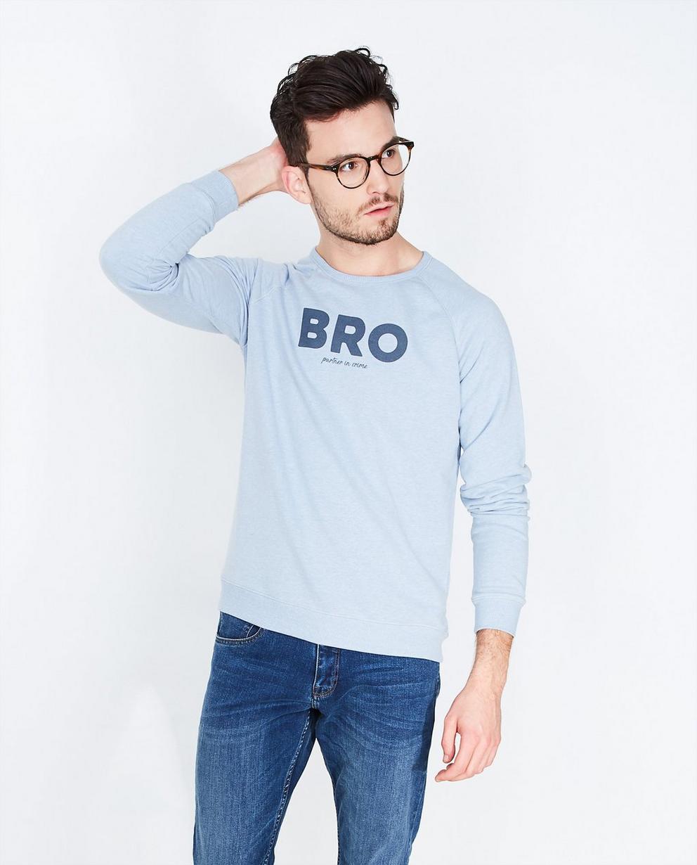 Hemelsblauwe sweater - #familystoriesjbc - JBC